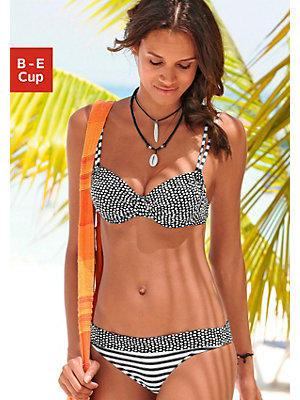 Bikini à armatures s.Oliver RED label Beachwear femme S.OLIVER RED LABEL noir