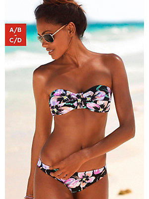 Bikini bandeau s.Oliver RED LABEL Beachwear femme S.OLIVER RED LABEL noir
