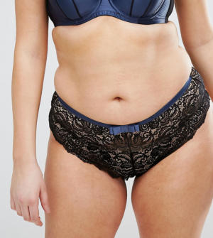 City Chic – Imogen – String – Noir