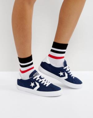 Converse – Breakpoint – Baskets en toile – Bleu marine – Navy