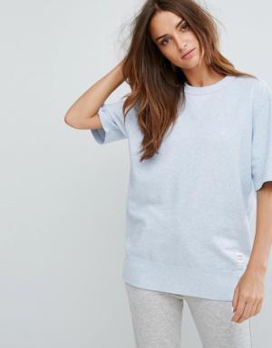 Converse – Essentials – Sweat-shirt en tissu éponge de qualité supérieure à manches  ...
