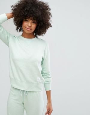 Converse – Essentials – Sweat-shirt en tissu éponge de qualité supérieure – Vert