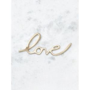 Déco «love» métal CYRILLUS