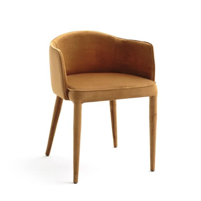 fauteuil de table velours bristol am pm. Black Bedroom Furniture Sets. Home Design Ideas