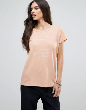 G-Star – Genzia – T-shirt décontracté – Rose