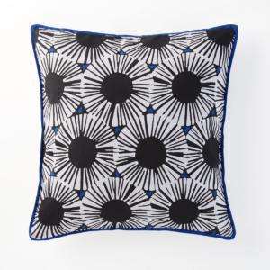 Housse de coussin,imprimée, Blue Riviera La Redoute Interieurs
