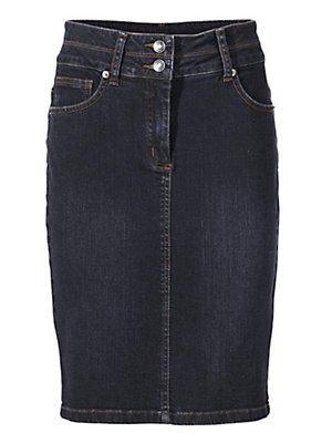 Jupe en jean femme Ashley Brooke bleu