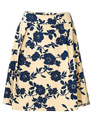 6c1c903c7860 Jupe imprimée Bodyform femme Ashley Brooke bleu