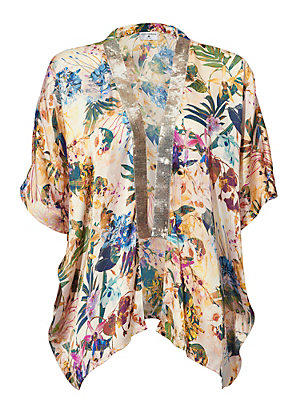 Kimono femme Rick Cardona multicolore