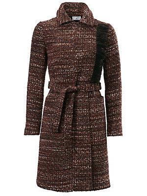 Manteau bouclettes femme Rick Cardona multicolore