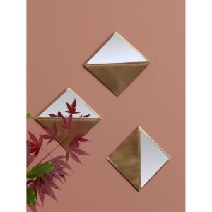 Miroir triangle par lot de 3 – LES PETITS BOHÈMES® CYRILLUS
