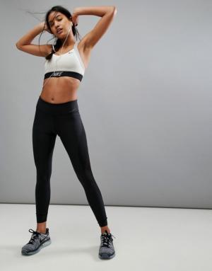Nike – Power Legend – Legging à taille mi-haute – Noir