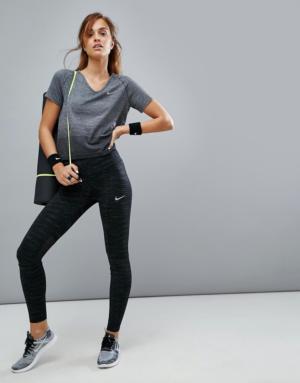 Nike Running – Power Epic Luxe Radiant – Collants – Noir