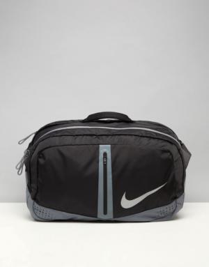 Nike – Sac balluchon de sport – Noir