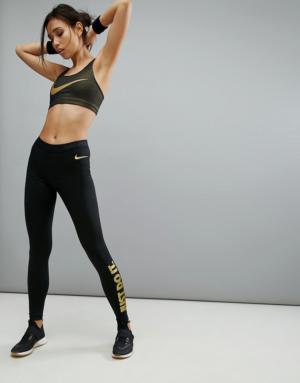 Nike Training – Leggings – Noir – Noir