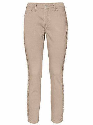 Pantalon à 5 poches femme B.C. Best Connections écru