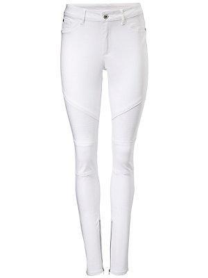 Pantalon de motard femme B.C. Best Connections blanc