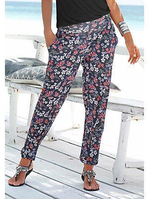 Pantalon de plage avec imprimé floral s.Oliver RED LABEL Beachwear femme S.OLIVER RED LABEL mult ...