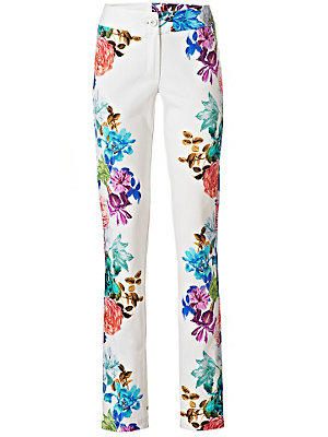 Pantalon imprimé femme Ashley Brooke multicolore