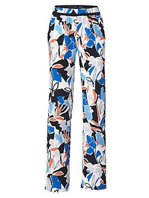 Pantalon imprimé femme Rick Cardona multicolore