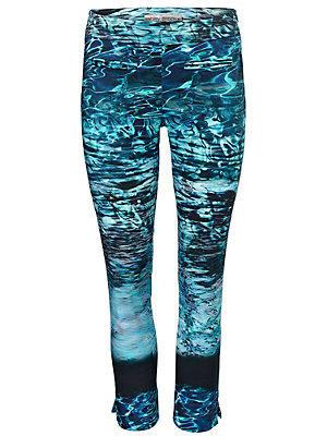 Pantalon imprimé océan femme Ashley Brooke bleu