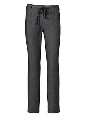 Pantalon stretch Bodyform femme Ashley Brooke gris