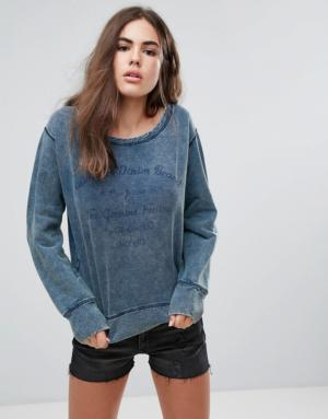 Pepe Jeans – Irene – Sweat-shirt – Bleu
