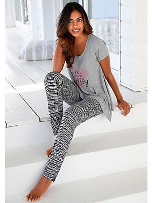 Pyjama à pans flottants s.Oliver RED LABEL Bodywear femme S.OLIVER RED LABEL gris
