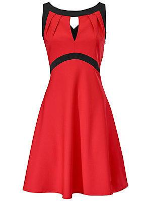 Robe à bretelles croisées corail femme Ashley Brooke rouge