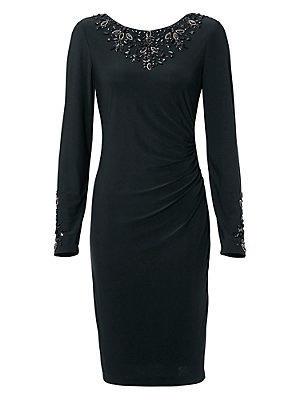 Robe de cocktail femme Ashley Brooke noir