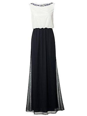 Robe de soirée femme Ashley Brooke bleu