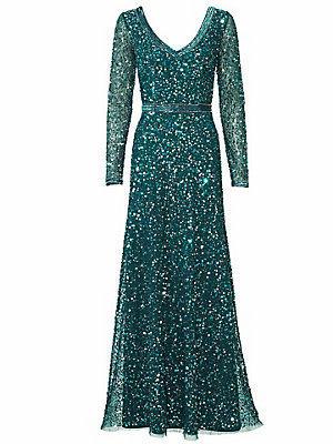 Robe de soirée femme Ashley Brooke vert