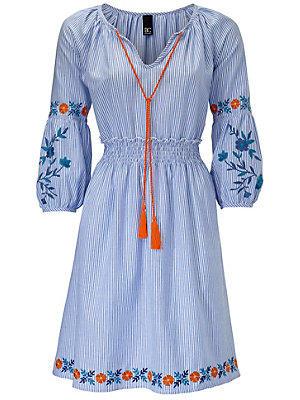 Robe imprimée femme B.C. Best Connections bleu