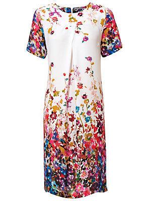 Robe imprimée fleurie colorée femme Ashley Brooke multicolore