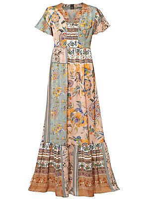 Robe longue femme B.C. Best Connections multicolore