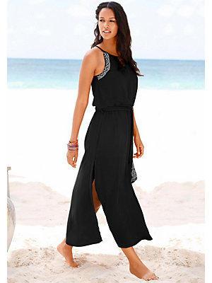 Robe longue s.Oliver RED LABEL Beachwear femme S.OLIVER RED LABEL noir