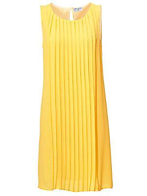 Robe plissée femme Rick Cardona jaune