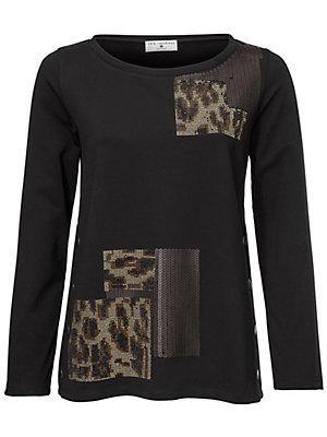 Sweat-shirt femme Rick Cardona noir