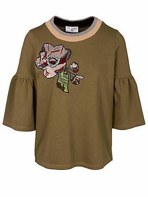 Sweat-shirt femme Rick Cardona vert