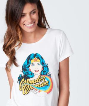 T-shirt col rond avec imprimé Etam