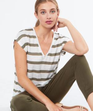 T-shirt en lin Etam