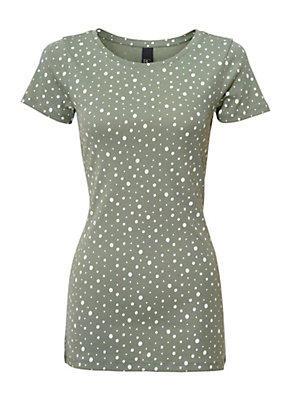 T-shirt imprimé femme B.C. Best Connections vert
