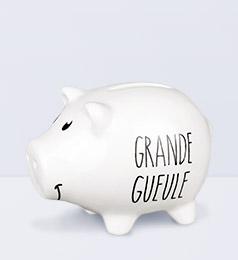 Tirelire Cochon Grande Gueule – Shaman