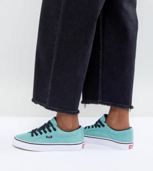 Vans – Lampin – Baskets unisexe – Sarcelle – Vert