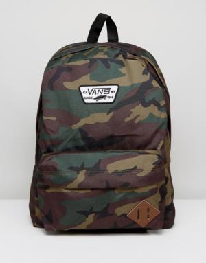 Vans – Old Skool Ii – Sac à dos – Imprimé camouflage – Multi