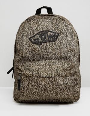 Vans – Sac à dos imprimé léopard – Multi