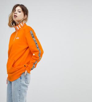 Vans – Sweat à col zippé – Orange exclusivité ASOS – Orange