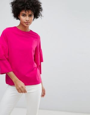 Vero Moda – Sweat-shirt évasé – Violet