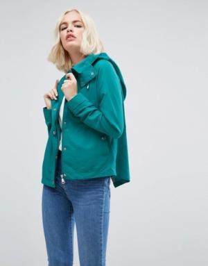 Vero Moda – Veste courte à capuche – Navy
