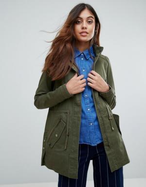 Vero Moda – Veste fonctionnelle légère – Vert